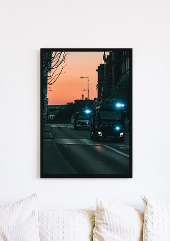 Fire Engine Sunset - 032