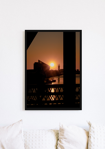 Salford Quays Sunset 1 - 057
