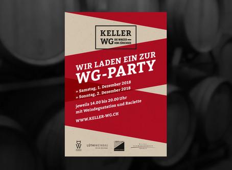 Einladung zur WG-Party am 1. und 2. Dezember