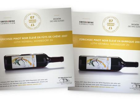Swiss Wine  Vintage Award  2017