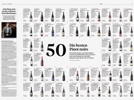 Die 50 besten  Pinot Noirs