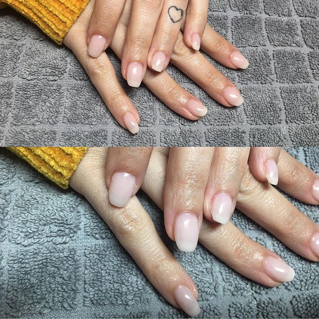 #gelnails #natural _commercialeandreia _