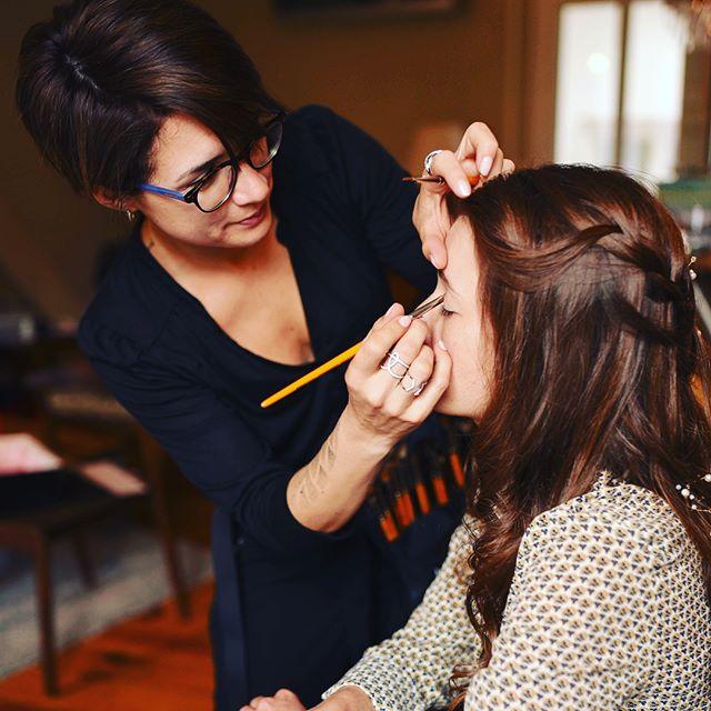 My job, I love it#makeupartist #makeup #