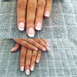 Beauté des mains #frenchmanucure #nails