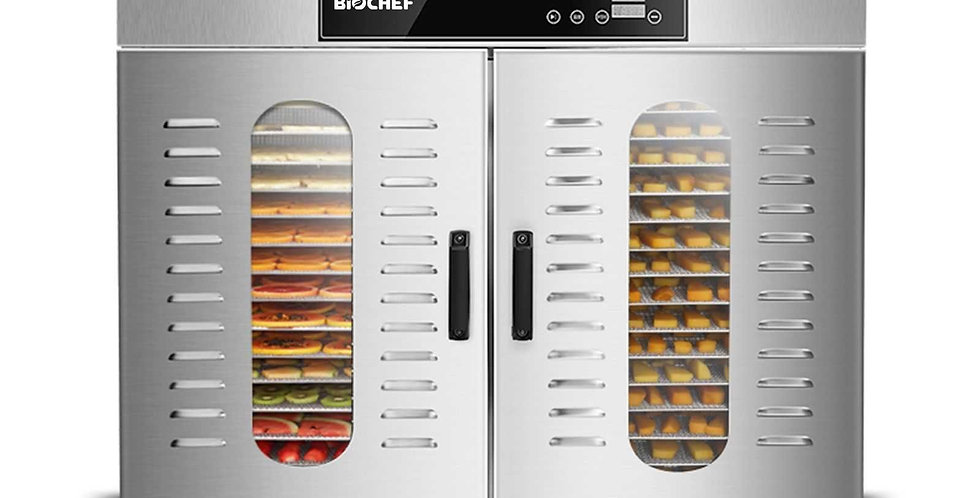 Deshidrator comercial BioChef digital orizontal 32 tăvi