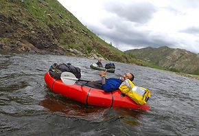Mongolia expedition travel tour rafting camping adventure packrafting