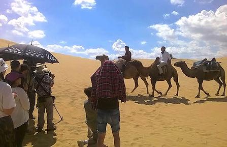 Fixer in Mongolia, Mongolia, Fixer, film production, Gobi, camel caravan
