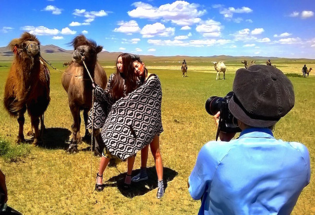 ICON Magazine Fashion Photo Shoot