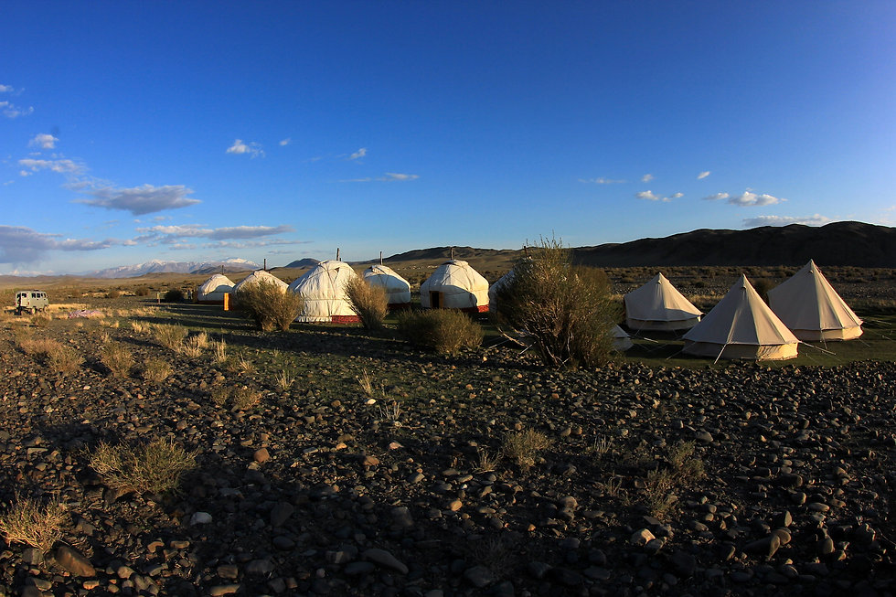 project yurt ger camp in mongolia