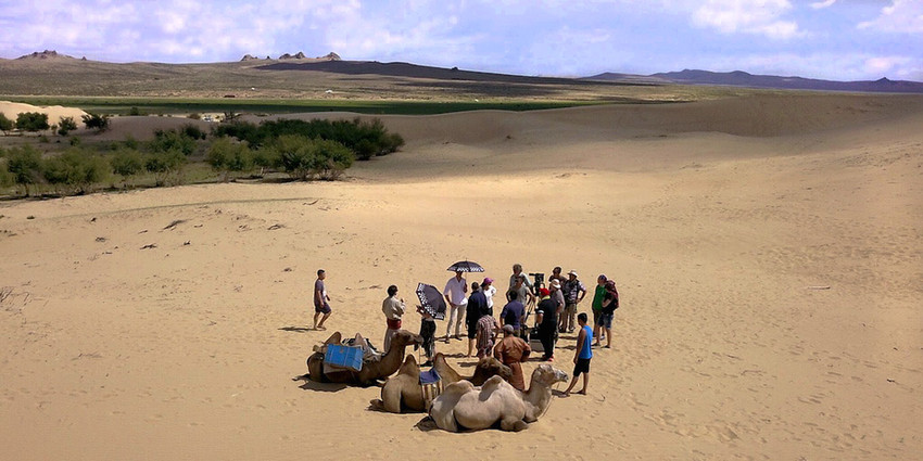 TUMI Shoot in the Dunes