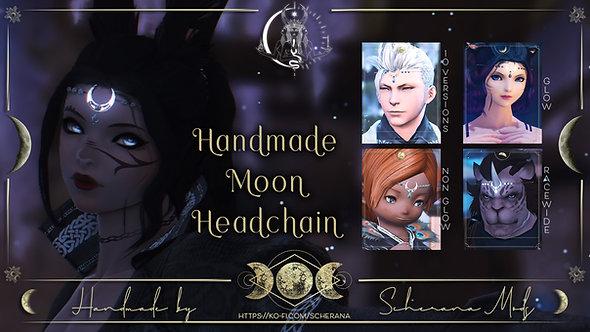 [S] Handmade Moon Headchain (Unisex)