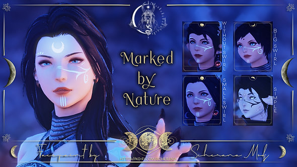 [S] Marked by Nature (Facepaint)