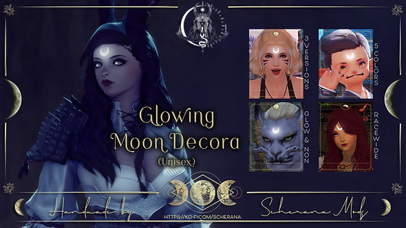 [S] Glowing Moon Decora (Unisex)