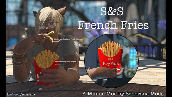 [S] Pack of Fries and single fries Prop