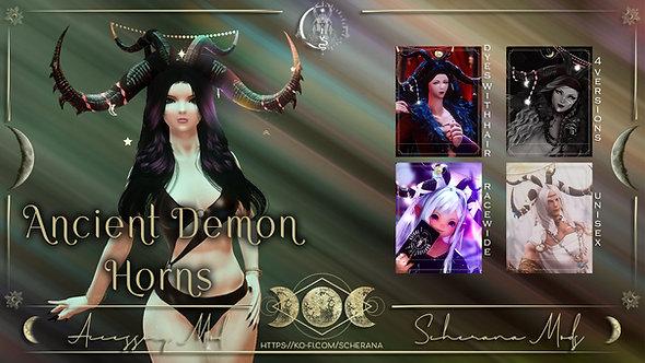 [S] Ancient Demon Horns