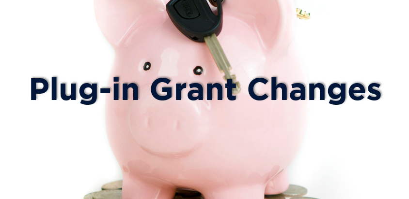 Plug-in Grant Changes
