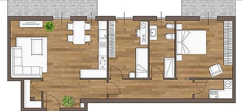 Ipotesi progetto 1 - Villetta via Aniense a Cremona_A3r Architettura