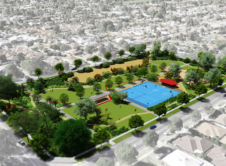 old suburb : new park – media launch