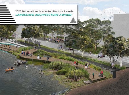 Maribyrnong project receives Landscape Architecture Award for Landscape Planning