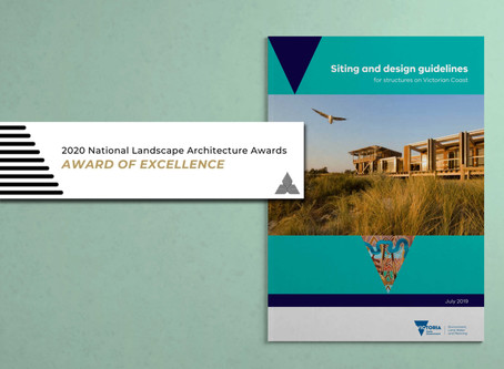 Siting and Design Guidelines receives Award of Excellence for Landscape Planning