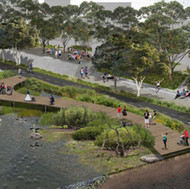 2020 landscape architecture award in infrastructure