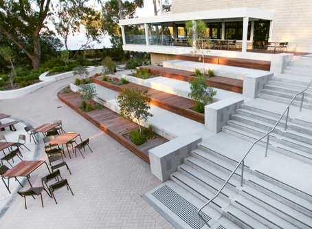 murdoch university student hub - major courtyard upgrades