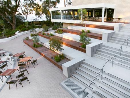 murdoch university student hub - major courtyard upgrades