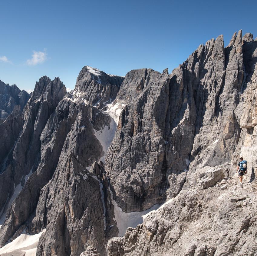 Sextner Rotwand Klettersteig