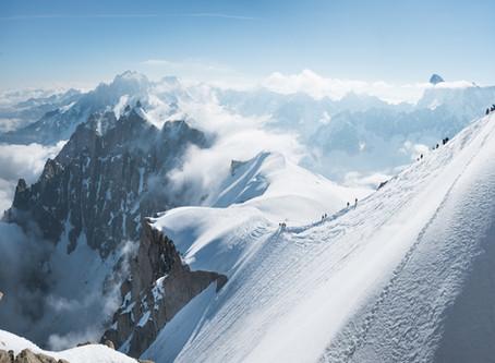 Chamonix Teil II - Mont Blanc, auf's Dach Europas