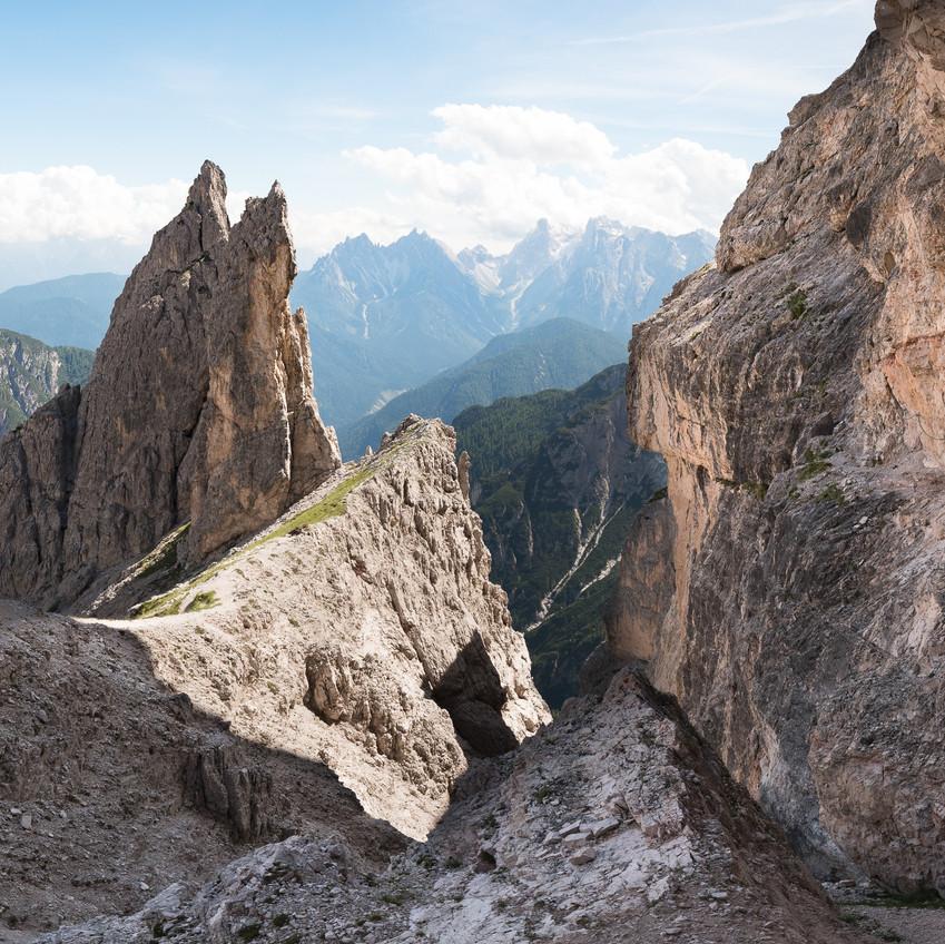 Endlose Klettersteige...