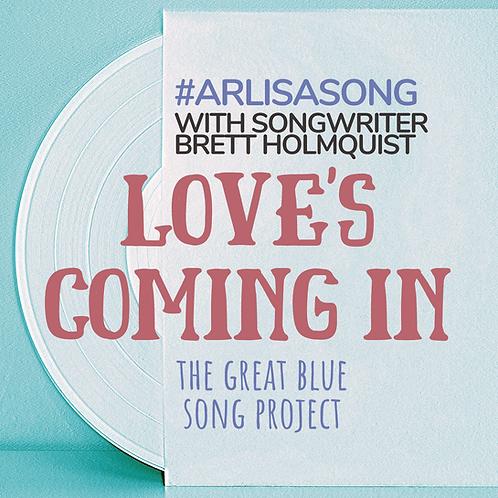 #ArlisaSong Lyric Button (Songwriter Brett Holmquist)