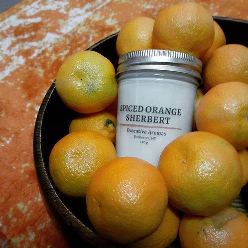 Spiced Orange Sherbert
