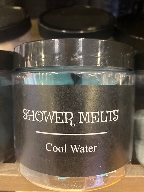 Cool Water Shower Melts