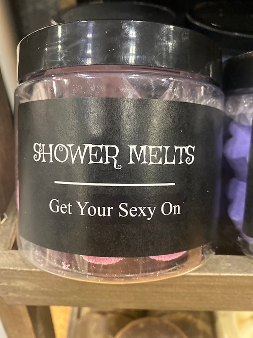 Get Your Sexy On Shower Melts