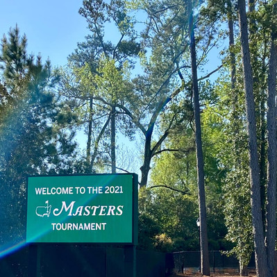 Back like we never left! 💚⛳️🦢#Masters2021  #DallasFanFares #DFF #Masters #WeMakeEvents