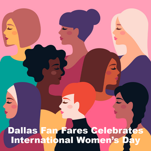 Today on International Women's Day, Dallas Fan Fares celebrates our 40 year history of empowering women's success in business and all aspects of their lives. #IWD2021 #DallasFanFares #WeMakeEvents #VirtualMeetingExperts