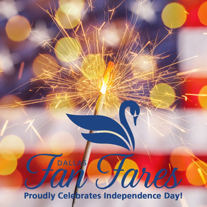 Dallas Fan Fares proudly celebrates Independence Day, and we wish everyone a happy holiday!  #4thofJuly #IndependenceDay #DallasFanFares #DFF