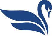 Dallas Fan Fares logo swan
