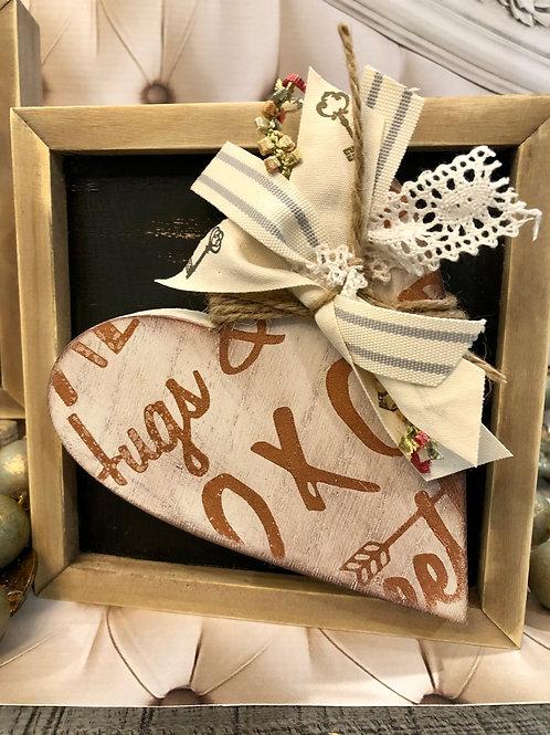 Box Frame Hearts