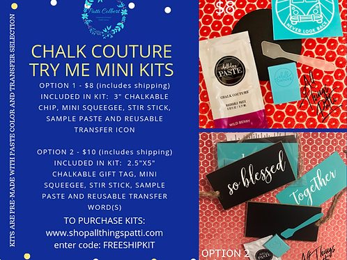 Chalk Couture Mini Kits