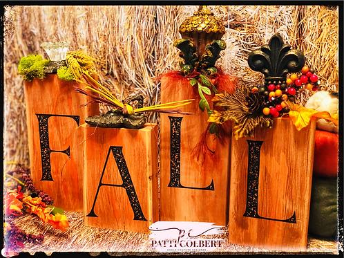 Fall Blessings Block Set