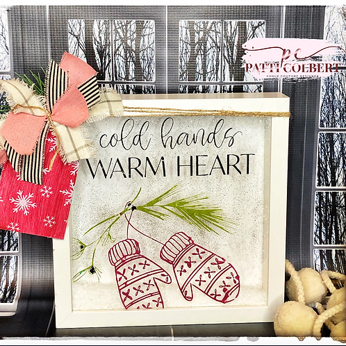 Warm Heart Shadow Box