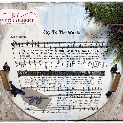 Joy To The World Round Board