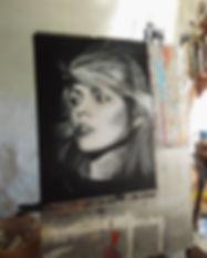 Debra Harry Portrait