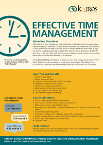 Improve your Life at Work and at Home with EFFECTIVE TIME MANAGEMENT