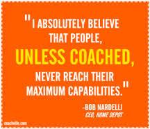 Coach to Lead – Help people reach their maximum capabilities