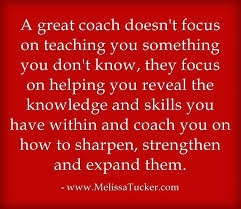 Coach to Lead – The Role of a Coach