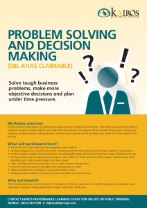 Think Fast – Solve Problems and Make Decisions with Speed