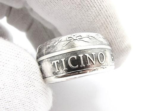 "Bague ""Ticino"" Argent"