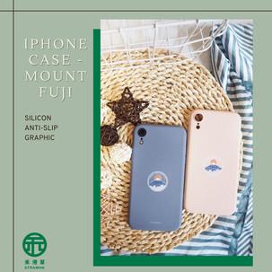 《禾港草》推介:Ellustrationnn : iPhone Case - Mount Fuji